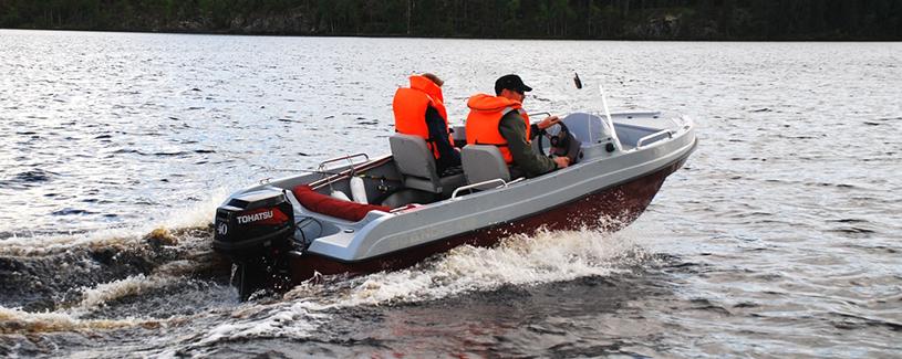 scandic лодка 430